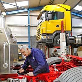 Vehicle workshop Layout